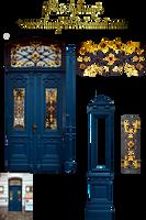 Art Nouveau Door 1 by lumpi69