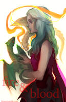 GoT - Fire and Blood by feyuca