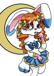 Princess Vi as a Sailor Moon by queenofblackcrows
