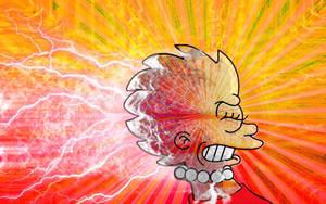 Lisa Psychic Explosion by GatorGod