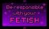 Stamp: Dear Fetish Communities by PrincessSkyler