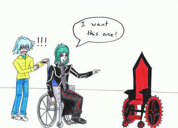 Hell Kaiser's New Wheelchair by thingy-me-jellyfis