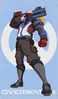 Soldier : 76 by Izzual