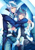 Commission : Ryouji and Seiji by nekoyasha89