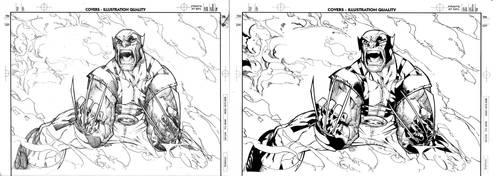Cover Wolverine 42 by Lobo-Cuevas