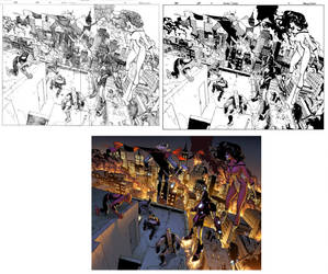Amazing Spiderman 648 page 2-3 by Lobo-Cuevas