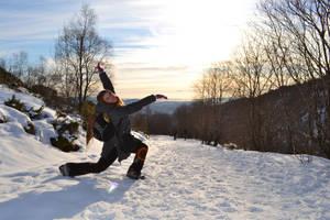 Me dancing by Poligla