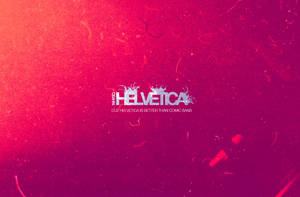 Helvetica Wallpaper by Find-The-In-Between