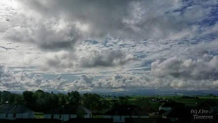 Boisterous cloud by artekoublier