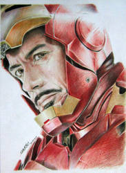 Iron man (completed) by SUNKRIS