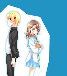 Haku and Sasa by IYuukikazeI
