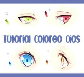 TUTORIAL COLOREO OJOS + LINK by IYuukikazeI