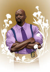 Brooklyn Nine Nine - Terry by Amedyr