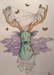 The Dream Deer by pantomime6