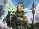 Oath of Nissa (MTG STUDY) by totopc