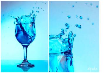 SplashingBlue : 2 by dyudo