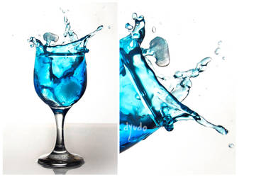 SplashingBlue : 3 by dyudo