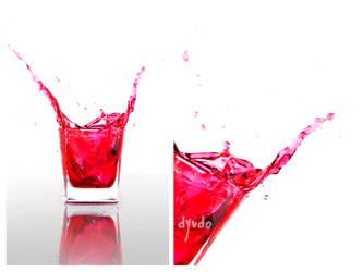 SplashingRed : 2 by dyudo