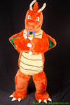 Dragonite Cosplay with a game boy color by vaporeon1306