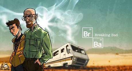 Breaking Bad by ADN-z