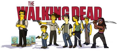 Walking Dead / Simpsonized by ADN-z