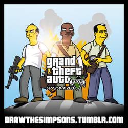 GTA 5 Simpsonized by ADN-z