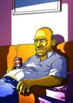Creepy Homer Simpson by ADN-z