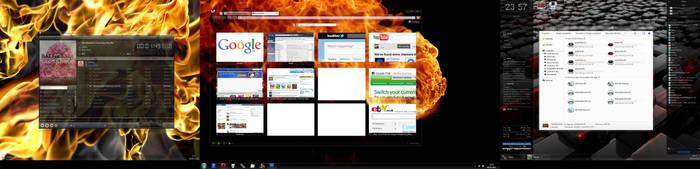 My Desktop 08-05-2011 by DaemonReality