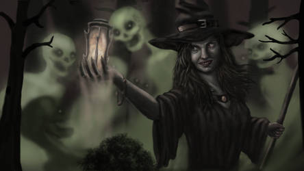 The witch by mascaren15