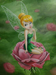 Tinkerbell by artistangie
