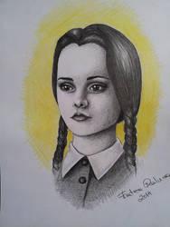 Wednesday Addams by RalucaFratea