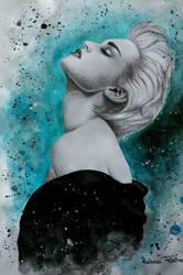 True Blue #Madonna by RalucaFratea