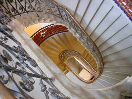 stairs down by tiffgraphic