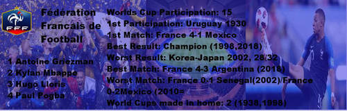 france in world cups by Gmo12