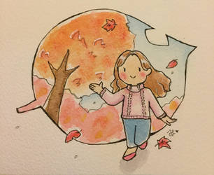 (autumn)  by MintLeefy