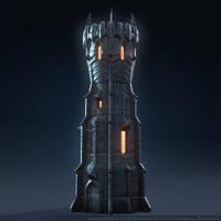 Dark Wizard's Tower by Sergey-Ryzhkov