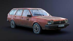 Volkswagen Passat B2 by Sergey-Ryzhkov