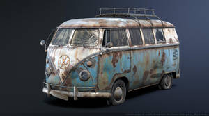 Volkswagen T1 Rusty 3D by Sergey-Ryzhkov