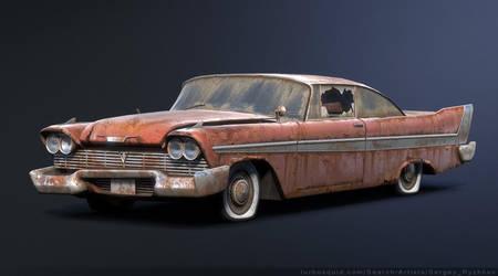 Plymouth Fury 1958 Rusty by Sergey-Ryzhkov
