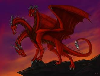 Draco -commish- by Aarok