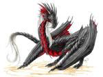 Skallgyenn with the thousand spikes by Aarok
