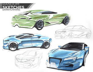 Random Cars Sketch-a-Day by Dannychhang