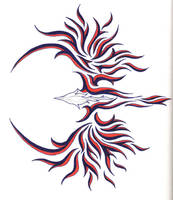 Tribal Pheonix 02 by punkard