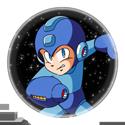 Megaman Stamp by Eye-Of-Deidara