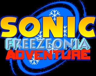 Sonic Freezeonia Adventure logo by 4-Chap