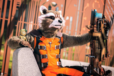 Guardians of the galaxy  Rocket Raccoon by Shoko-Cosplay