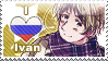 APH: I love Ivan Stamp by Chibikaede