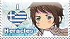 APH: I love Heracles Stamp by Chibikaede
