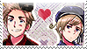 APH: Denmark x Norway Stamp by Chibikaede