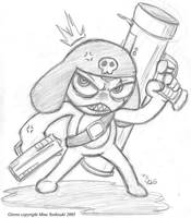 Corporal Giroro from Sgt Frog by Yuji28Go